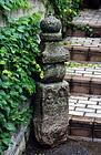 Stone Isseki Gorinto 5-Tiered Stupa Nanbokucho 14 c.