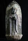 Stone Jizo Bosatsu Bodhisattva Genroku 16 (1703) Edo