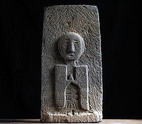 Stone Jizo Bosatsu Bodhisattva Edo 19 c.