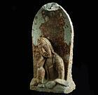 Stone Nyoirin Kannon Bosatsu Bodhisattva Edo Period