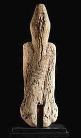 Shingi Wood Core of Clay or Lacquer Sculpture Nara 8 c.