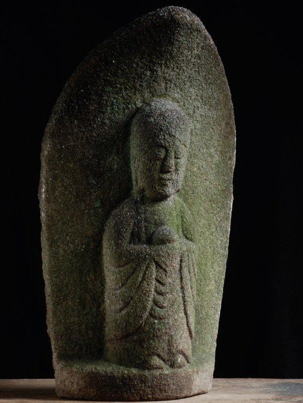 Stone Jizo Bosatsu Bodhisattva Edo 18/19 c.