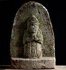 Stone Seishi Bosatsu Bodhisattva Edo 18 c.