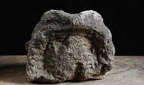 Stone Toad Frog Kaeru Edo 18/19 c.