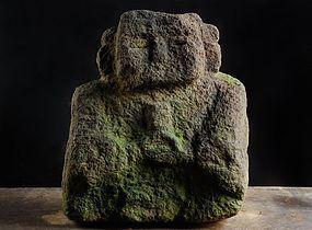 Stone Shinzo Shinto God Kami Edo 17/18 c.