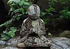 Stone Jizo Bosatsu Bodhisattva Edo 18 c.