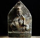 Stone Nyoirin Kannon Bosatsu 33 Kannon Edo 18/19 c.
