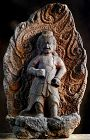 Stone Fudo-Myo Knowledge King Acalanatha Edo 18/19 c.