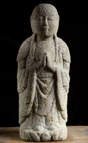 Stone (Granite) Jizo Bosatsu Edo 17/18 c.