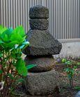 Stone Gorinto 5-Tiered Stupa Pagoda Nanbokucho~Muromachi 15 c.