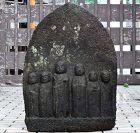 Stone Six-Jizo Bosatsu Bodhisattva Edo Period 17 c.
