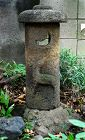 Stone (Granite) Lantern Deer Motif Late-Edo-Period/Meiji Era 19 c.