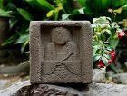 Stone Nyorai Buddha late-Muromachi Period ca. 1550