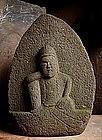 Stone Nyoirin Kannon Bosatsu Bodhisattva Jizo Edo