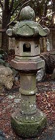 Stone Lantern Ishi-Doro Garden Statuary Tea Edo