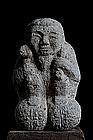 Stone Daikokuten 7 Lucky Gods Shichifukujin Meiji