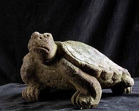 Stone Turtle Terrapin Tortoise Edo/Meiji 19 c.