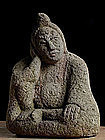 Nyoirin Kannon Bosatsu Bodhisattva Jizo Buddha Edo