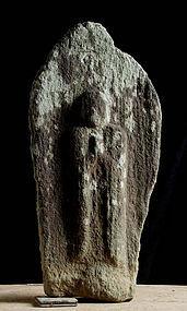 Stone Jizo Bosatsu Objet Bodhisattva Buddha Edo