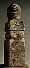 Stone Gorinto 5-Tiered Stupa Pagoda Buddha Edo 17 c.