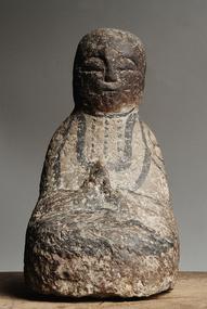 Stone Jizo Bosatsu Bodhisattva Buddha Kannon Edo 19 c.
