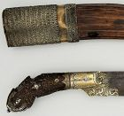 Dagger and Sheath Antique Horn Sri Lanka - Glenn Erso Collection
