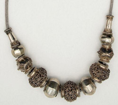 Necklace Vintage Silver Sri Lanka Ceylon - Glenn Erso Collection