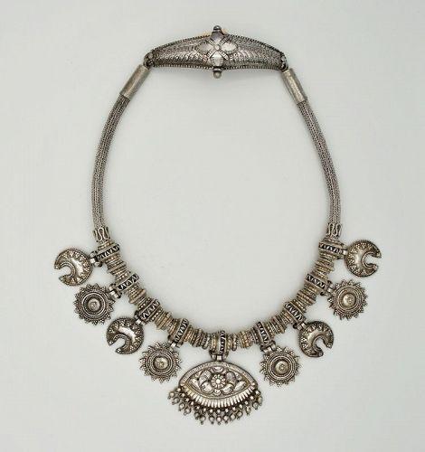 Necklace Antique Gold Vermeil Sri Lanka - Glenn Erso Collection