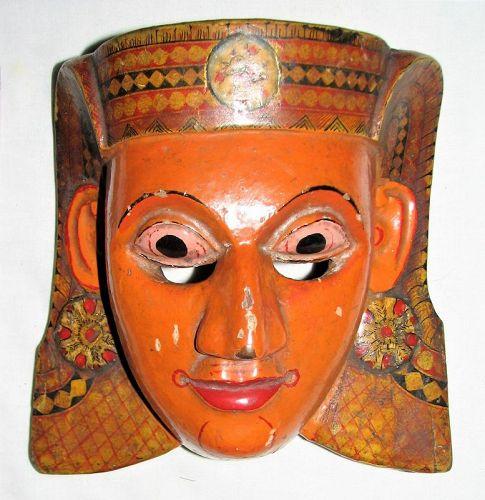 Mask Kolam Sri Lanka Theater Dancing Antique - Glenn Erso Collection