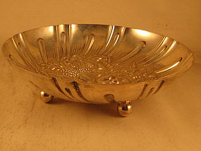 Repousse bowl by Kirk, Baltimore, 20th century
