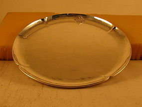 Tray by Art Silver Shop, Chicago, 1918-1934