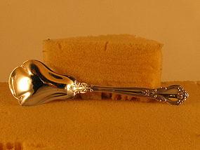 Sugar spoon by Gorham, Chantilly pattern