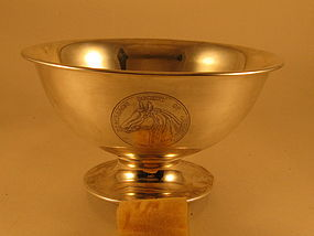 Presentation bowl by Robert Jarvie, Chicago, 1915