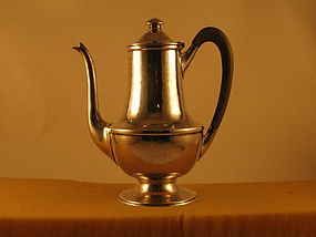 Coffee pot by James Woolley, Boston