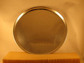 Large round tray by Kalo