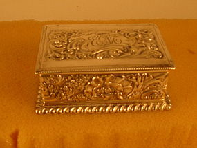Small box by Gorham, 1890