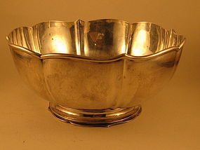 Bowl by James Woolley, Boston, 1st qtr.20th century