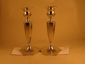 Pair of candlesticks, early 20th C.