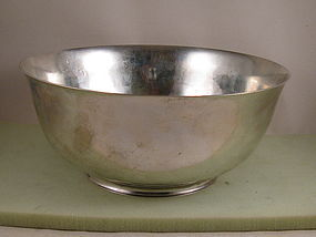 "Bowl by Gebelein 9-3/4"" punch bowl"