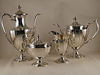 4 pc. tea & coffee service by Arthur Stone