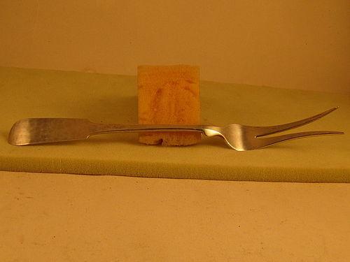 Serving fork by Porter Blanchard