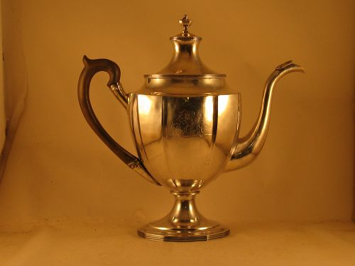 Coffee pot by Joseph Richardson, Jr., ca 1795