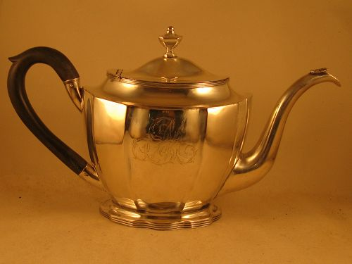 Teapot by Joseph Richardson, Jr., Philadelphia, circa 1795
