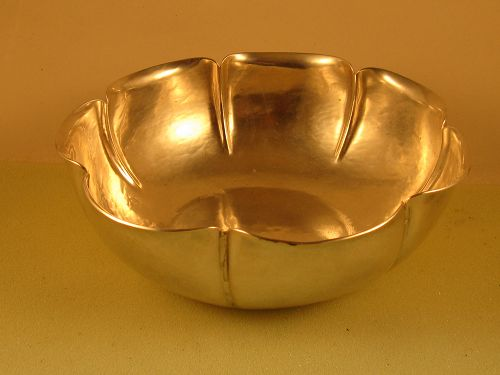 Bowl by Joel Hewes,; Titusville, PA, c. 1930