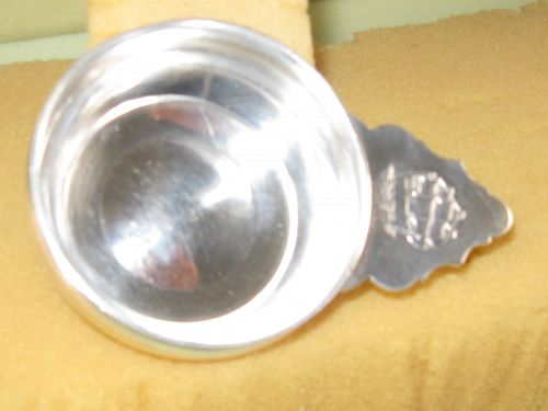 Miniature porringer by Gebelein,ship motif, circa 1930's