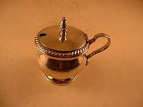 Mustard pot by Watson Co.