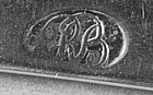 Pair of teaspoons by R. Brookhouse; Salem, MA; c. 1800