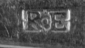 Teaspoon by Robert Evans; Boston, MA; circa 1790