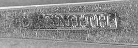 Teaspoon by David Smith; Lansingburgh, NY; circa 1805