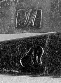 4 Teaspoons by Asa Sibley, NH, circa 1810